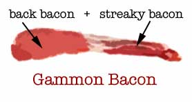 gammon bacon